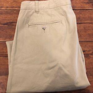 Tan men's khaki pants size 36